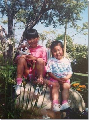 anya and me at disneyland