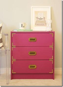 DIY Campaign Dresser