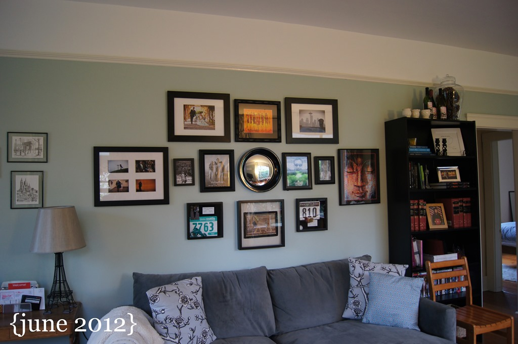 Living Room Gallery house tour | emerald city diaries