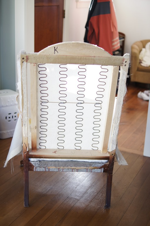 Diy Upholstered Wingback Chair