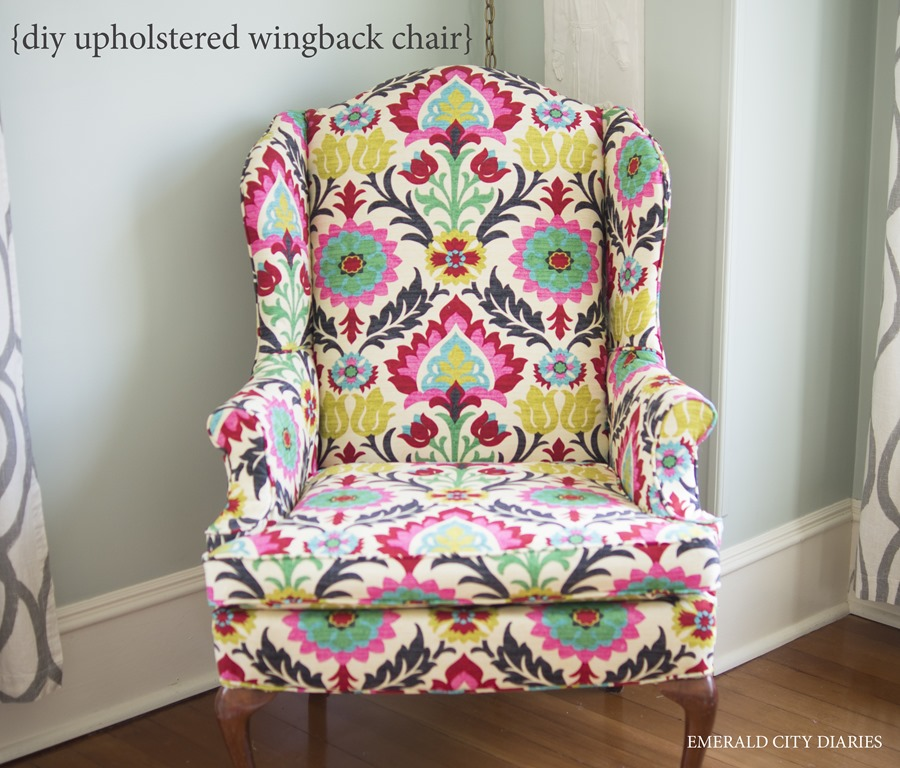 Diy Upholstered Wingback Chair.