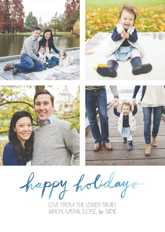 Holiday Card 2015 - Lower Family