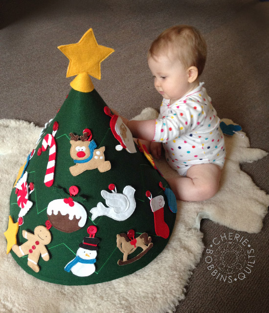 Pinterest Christmas: Toddler Felt Christmas Tree {Linky Party ...